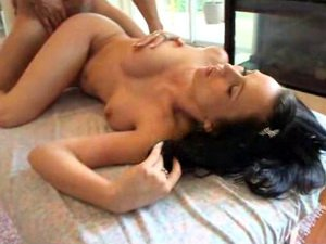 Oily massage for this gorgeous brunette hottie